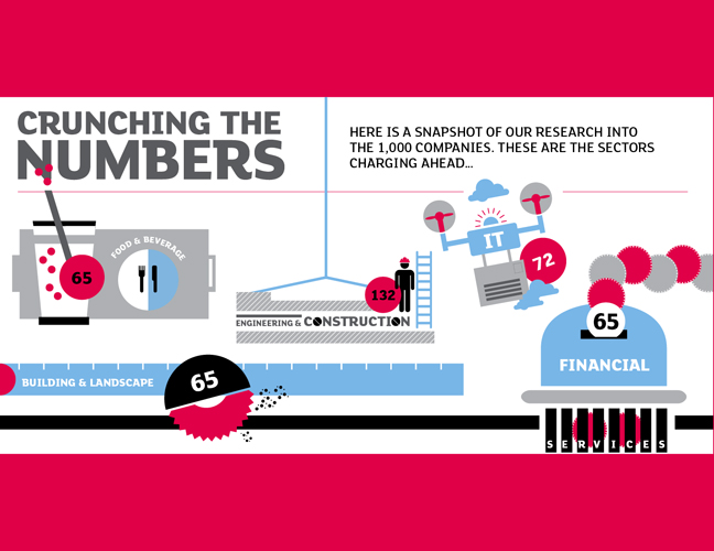 Crunching the numbers infographic